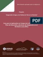 Guía para la Aplicación en Campo de la Metodología del Plan de Desarrollo y Acciones de Adaptación en el Territorio Local.pdf
