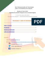 Jornadas TIC 2019 - FL UNC  - Programa y Libro de resúmenes.pdf