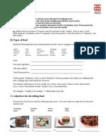 Describing Food Handout