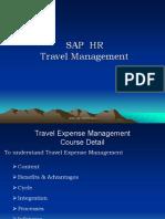 SAP TRAVEL Expense Management Presentation