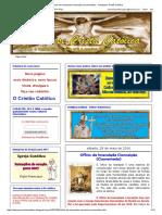 Ofício Da Imaculada Conceição (Comentado) - Catequese Cristã Católica