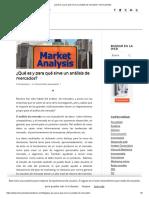 ¿Qué Es y Para Qué Sirve Un Análisis de Mercados_ _ Innovamedia