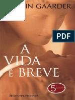 A Vida e Breve - Jostein Gaarder.pdf