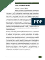 3. El Perú y Los Gobiernos Militares