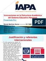 Diapositiva de Fundamento Del Curriculo Dominicano.