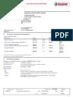 a01 - Msds - Castrol Hidraulico