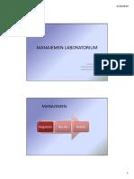 Laboratory Management 2