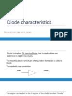 3 - Diode Characteristics