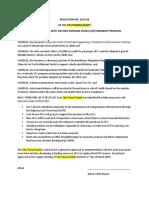 Zero-Emission Vehicle Draft Resolution