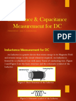 5 - Inductance & Capacitance Measurement for DC