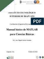 (Servicio)Manual Básico de MATLAB Para Ciencias Básicas