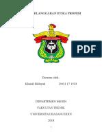 A 171523 Khairil Hidayah 2018