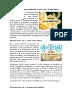 Aditivos Lácteos Permitidos Por El Codex Alimentarius