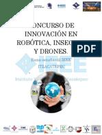 1° PRIMER Concurso de Innovación en Robótica Bases AQUÍ ¡