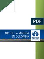 Revista sobre canteras en Colombia.