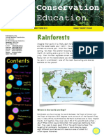 24. Rainforests - Conservation Education - YPTE