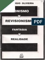Sionismo x Revisionismo,  Fantasia x Realidade - Sérgio Oliveira.pdf