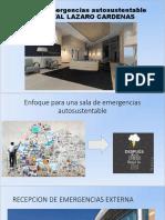Sala de Emergencias Autosustentable Issste
