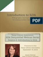 RDA Manual