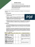 Evaluacion de Plan Turistico Taricá- Dircetur. 383-ANCASH-HUARAZ-TARICA