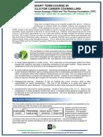 Short Term Certificate Basic Skills Career Counselling