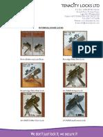 Tenacity Locks Online Catalog
