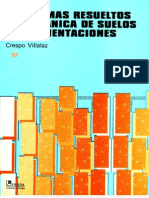 Problemas Resueltos de Mecanica de Suelos y de Cimentaciones - Crespo Villalaz