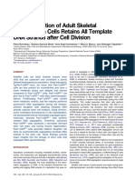 A Subpopulation of Adult Skeletal Muscle Stem Cells Retains All Temp 2012 Ce