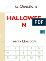 20 Questions - Halloween.ppt