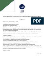 Doutorado Uni Lisboa