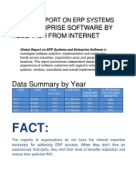Report on  ERP Systems