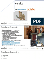7419 Paresh Motiwala DB Forensics for SQL Rally