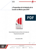 Perspectivas Económicas 2019_CEESCO_Tercer trimestre 2018.pdf