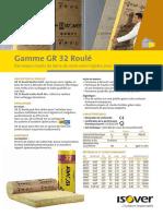 Isolation Mur Laine Minerale Semi Rigide GR32 Roule