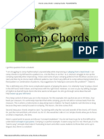 How to Comp Chords - Comping Chords - PianoWithWillie