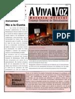 A VIVA VOZ- Boletín Oficial del Consejo General de Estudiantes UPR-RP