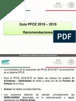 06 - Recomendaciones - Guia PFCE 2018