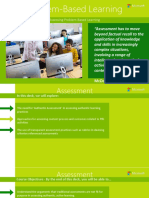 Problem-Based Learning - Deck 5 - PBL Assessment