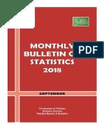 Monthly Bulletin of Statistics   September, 2018.pdf