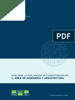 GUÍA PARA LA EVALUACIÓN DE COMPETENCIAS EN E L ÁREA DE INGENIERÍA Y ARQUITECTURA.pdf