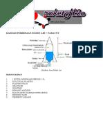 Kaedah Pembinaan Roket Air