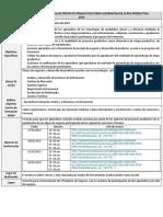Ficha Convocatoria 01 2019