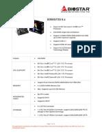 Data Sheet Biostar
