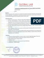 Method Statement T-6 Raft Temperature Monitoring