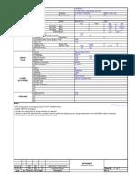 Datasheet for Restriction Orifice