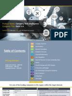 DALET S.A.Company Profile Report, 2018