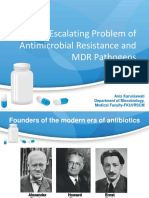 Escalating Problems of AMR JADE 120415