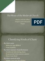 1. Medieval Church Music - 7400