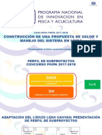 Caso Sia Acui Construccin de Una Propuesta de Valor y Manejo Del Slcs Chorito