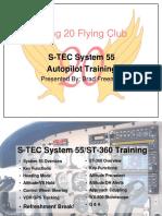 S-TEC 55 Training